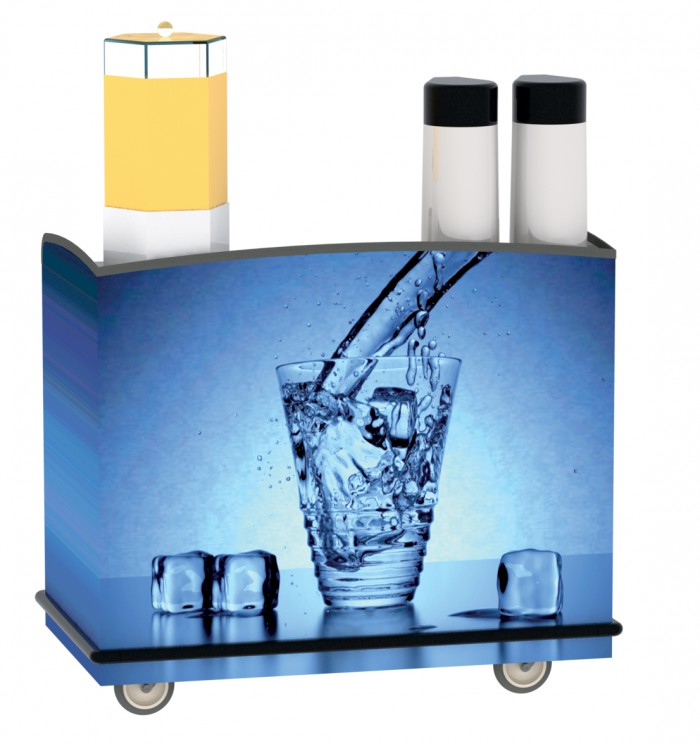 Lakeside Manufacturing Hydration Cart